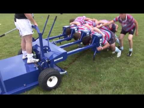 Rhino Rugby Dictator Scrum Machine With Mark Regan