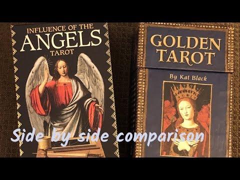 Influence Of The Angles Tarot Vs Golden Tarot