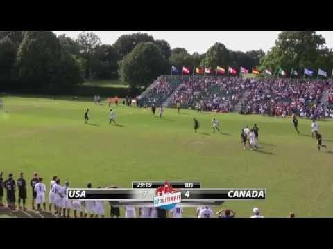 WU23 2015   USA vs Canada (Open) - Final