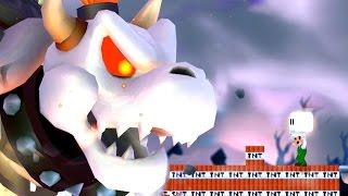 Repeat youtube video New Super Luigi Bros Wii All Castles (MLG Luigi VS Koopalings and Evil Dry Bowser)