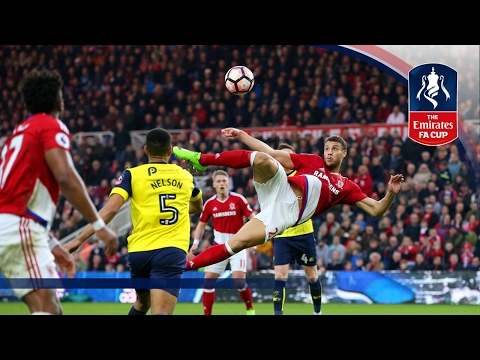 Middlesbrough 3-2 Oxford United – Emirates FA Cup 2016/17 (R5) | Official Highlights