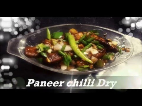 Paneer Cottage Cheese Chilli Dry In Marathi Youtube