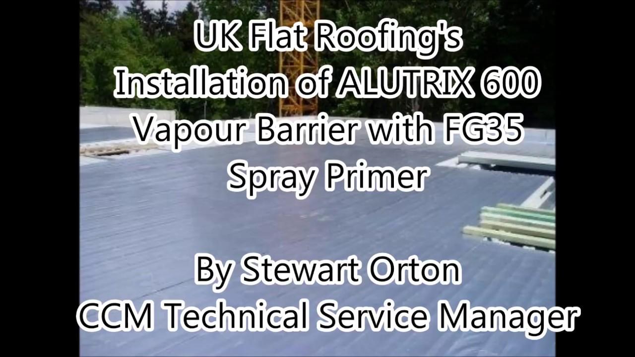 Alutrix 600 Vapour Barrier Installation