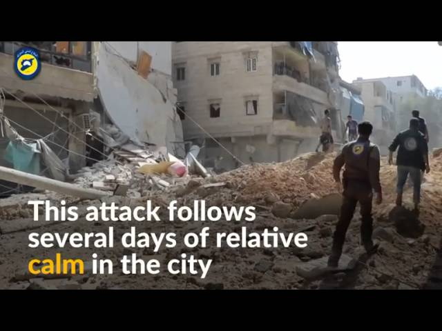 Russian jets resume heavy bombing of eastern Aleppo - rebels, monitor