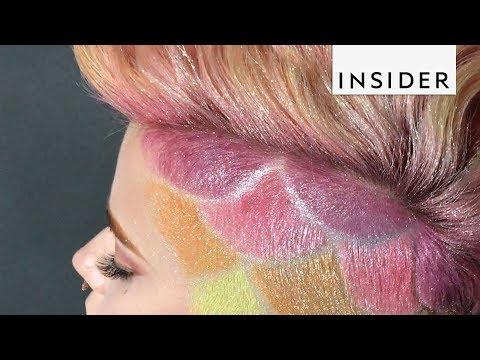 Colorful Mermaid Hairstyles