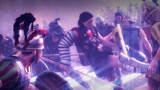 Гладиаторы VS Женщины-гладиаторы Total War: Rome 2