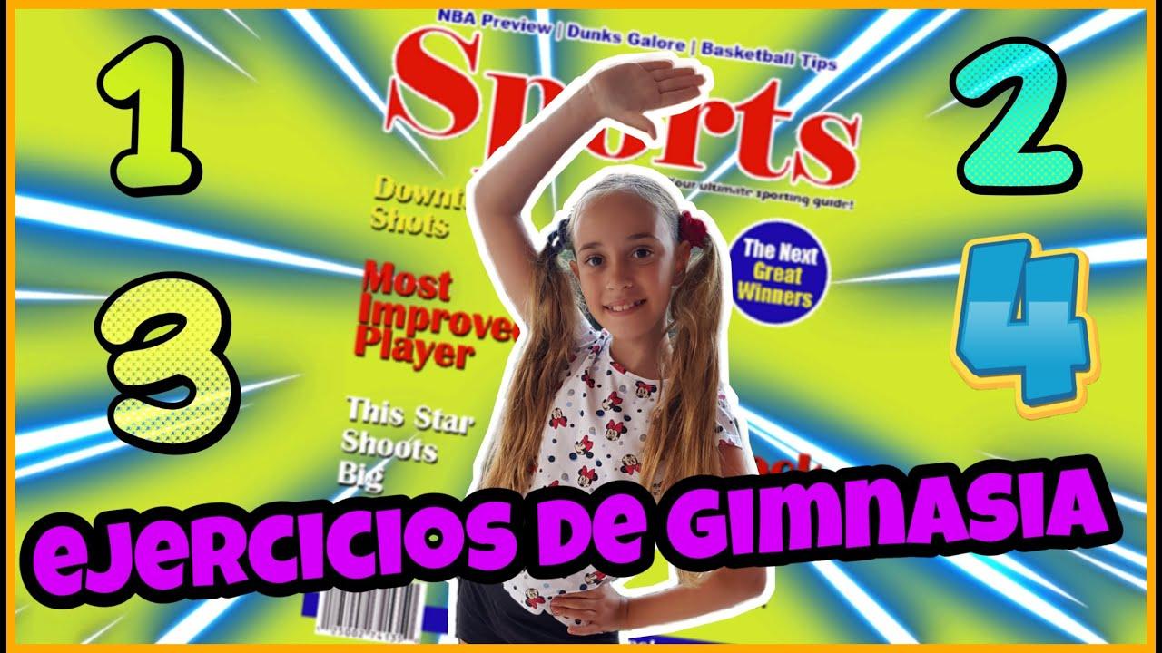 tutorial gimnasia infantil,mantente en forma