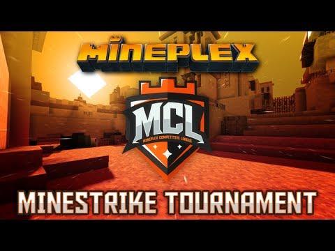 Announcing A New Minestrike Tournament! Mineplex Games, Minecraft Minigames