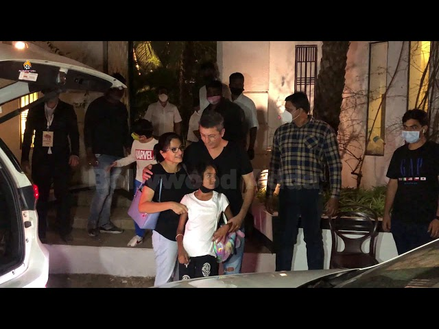 Kunal Kohli With Wife Reached For Varun Dhawan Marriage 1