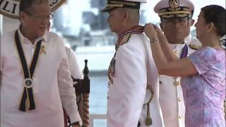 Philippine Navy Change of Command 4/30/2014