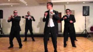 wedding dance men in black vs single ladies