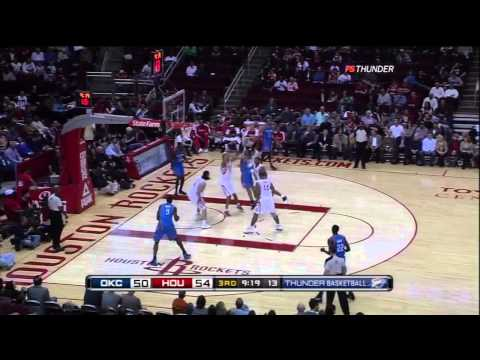 HD   Russell Westbrook With The Huge Dunk On Shane Battier   11 28 2010
