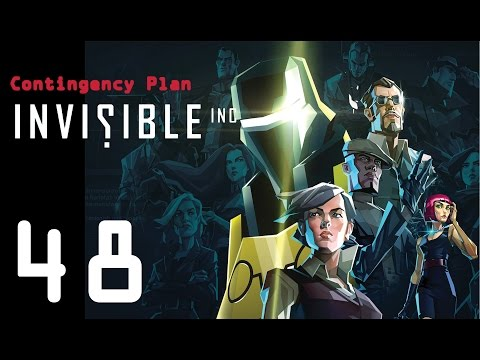 Invisible Inc. Contingency Plan 48 - Series finale!