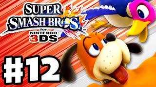 Super Smash Bros. 3DS - Gameplay Walkthrough Part 12 - Duck Hunt! (Nintendo 3DS Gameplay)