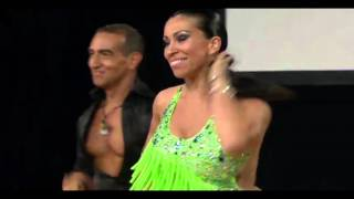 Giancarlo & Masha Salsa performance @ NZ World Latin Dance Cup