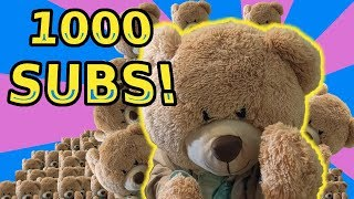 1000 Subscriber Special Episode! See What Fun Things Will Be Coming Up on HelloIamBear