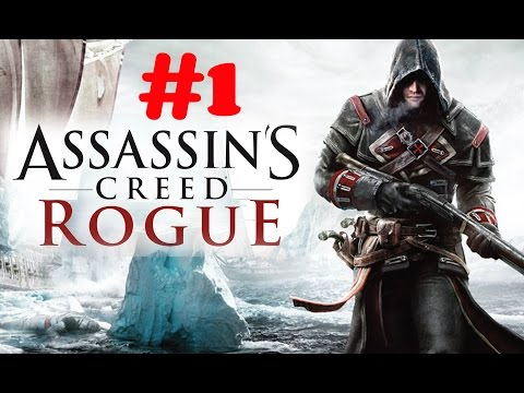 """Assassin's Creed: Rogue"" walkthrough (100% sync) Sequence 1, Memory 1: The Way The Wind Blows"
