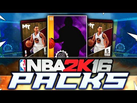 INSANE NBA 2K16 MY TEAM PACK OPENING!!!!