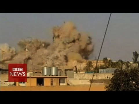 Isis blows up Iraq shrine- BBC News