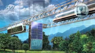 Транспортная революция SkyWay. Экологичный транспорт будущего .