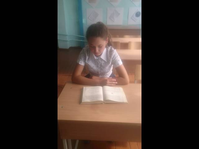 Ангелина Хурамшина читает произведение «Детство» (Бунин Иван Алексеевич)