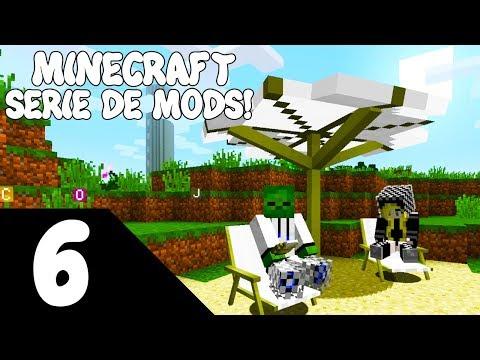 Minecraft 1.12.2 SERIE DE MODS! Capitulo 6! NOS VAMOS AL TRÓPICO!