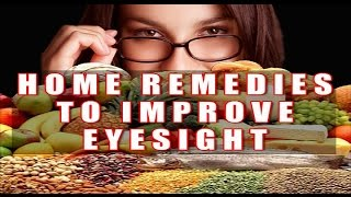 Home Remedy to Improve Eye Sight by Satvinder Kaur Thumbnail