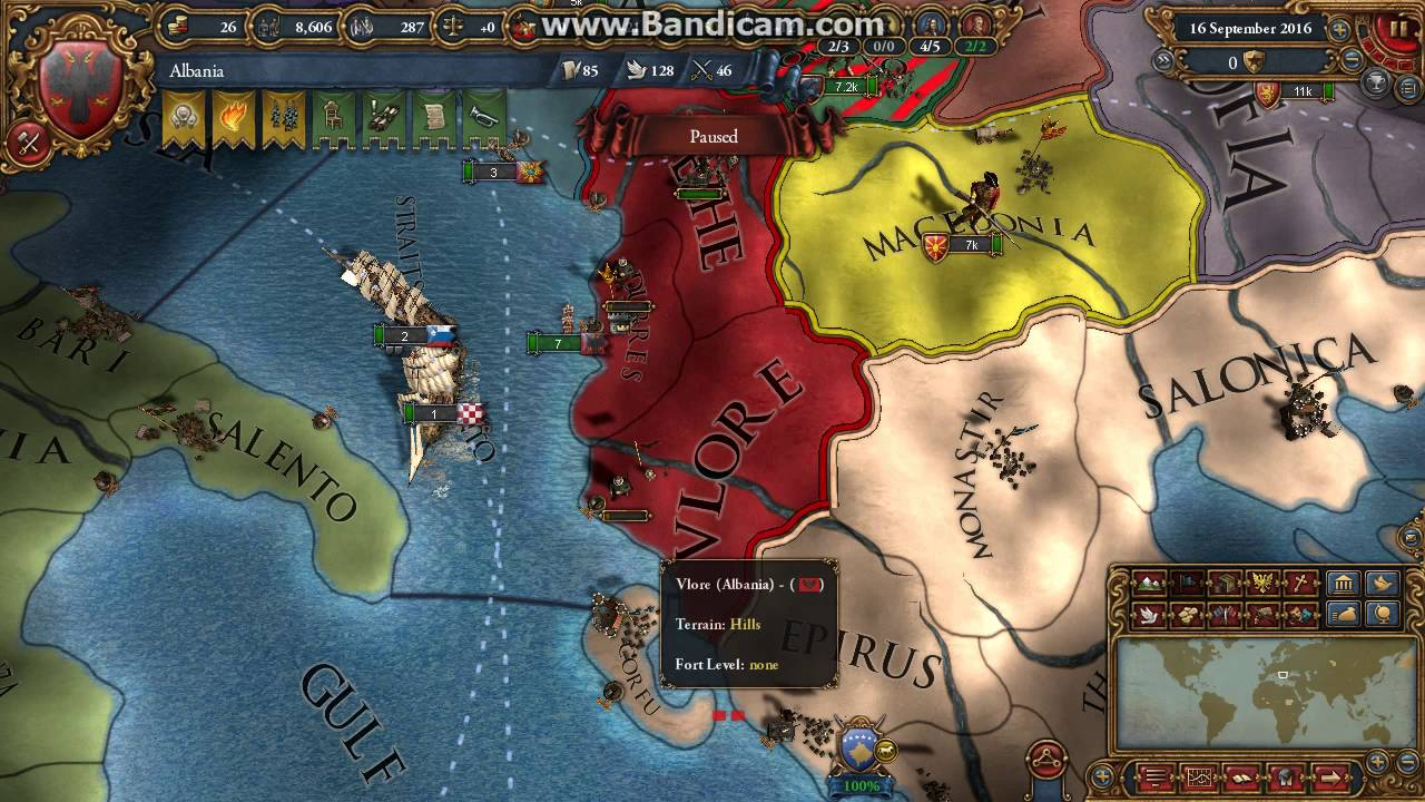 eu4 extended timeline albania gameplay without audio