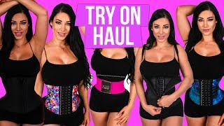 Waist Trainer Try On Haul Luxx Curves 🤗