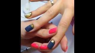 Совершенное золотое покрытие(Совершенное золотое покрытие Golden Lady! С таким маникюром можно даже на светский прием! :)))) В видео использова..., 2014-06-09T12:52:01.000Z)