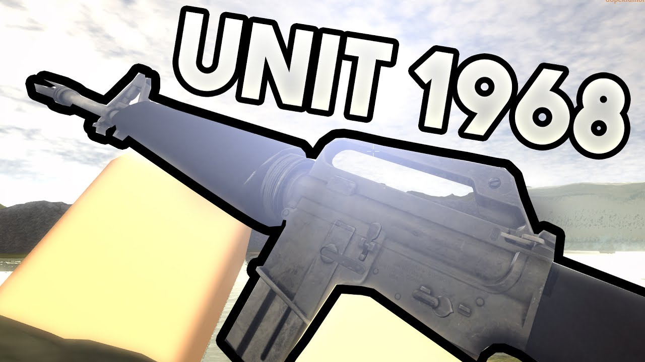 Free New Roblox Fps Game Unit 1968 Vietnam Youtube