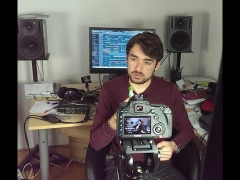 OLIVER HELDENS IN THE STUDIO..   Making of  'I Don't Wanna Go Home'