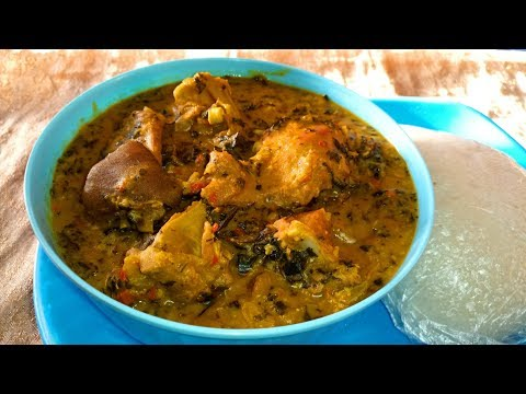 Bitter Leaf Soup Recipe: How to Cook Bitter Leaf Soup with Cocoyam (Ofe Onugbu)