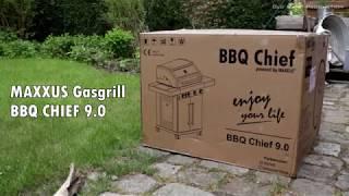 MAXXUS Gasgrill BBQ Chief 9.0