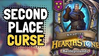 WHAT A CRAZY FINISH!! Can Khadgar Break the Second Place Curse? | Battlegrounds | Hearthstone