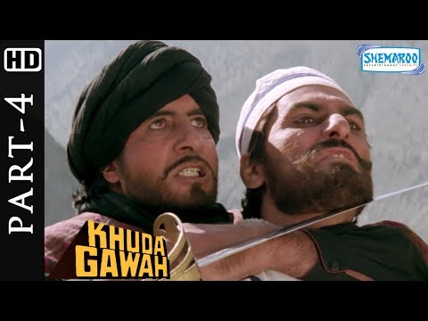 Khuda Gawah Full Hindi Movie Part 4 (HD) - Amitabh Bachchan - Sridevi - Popular 90's Movie
