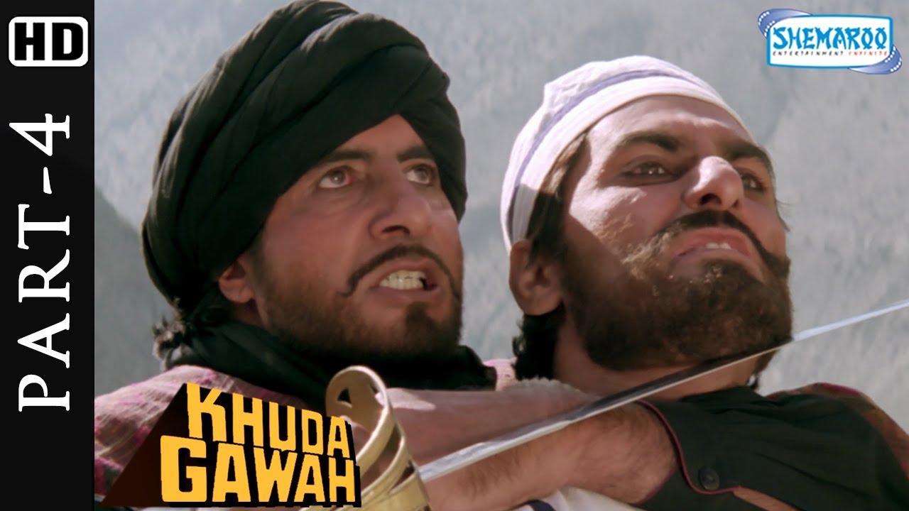 Download Amitabh Bachchan kills Habibhula scene from Khuda Gawah - Bollywood Action Movie