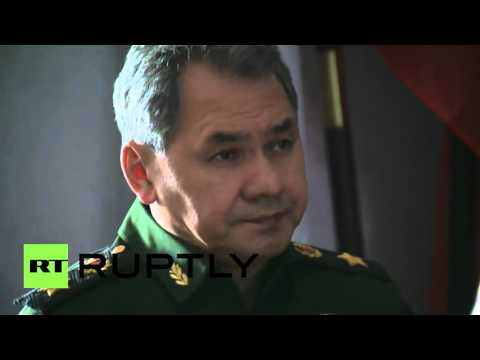 Russia: Shoigu arrives in Kaliningrad to check region's military readiness