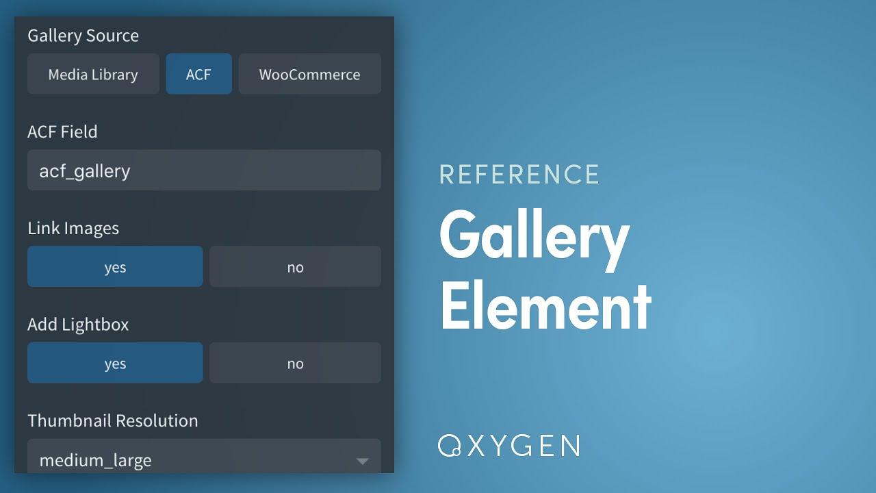 Gallery - Oxygen