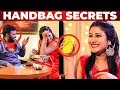 Alya Manasa's GLAMOROUS HANDBAG Secrets | What's Inside the HANDBAG