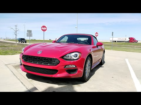 TEXAS ROAD TRIP: 2018 Fiat 124 Spider