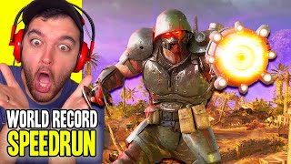 "WORLD RECORD ""FIREBASE Z"" EASTER EGG SPEEDRUN..."