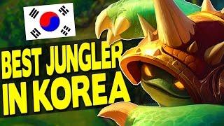 BEST JUNGLER IN KOREA SEASON 7 - Rammus Jungle Gameplay - League of Legends