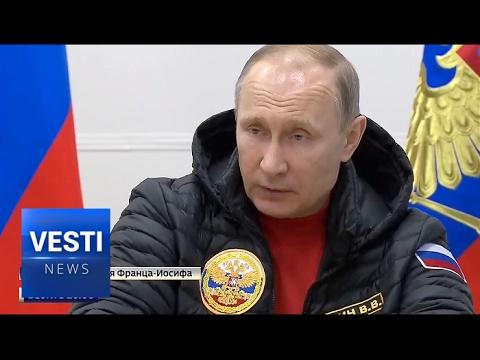 Arctic Shamrock: Putin Visits the Top-Secret Military Base