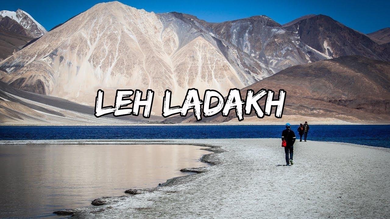 LEH TOWN LADAKH ROAD TRIP TOURISM   SHOCKING FACTS  LADAKH, JAMMU & KASHMIR