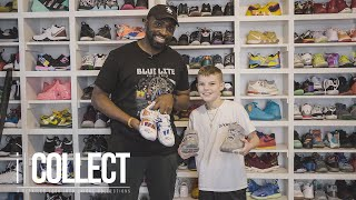 A Look Inside 10-Year-Old Lukas Witt's AMAZING Sneaker, Jersey & UK Collections | iCollect