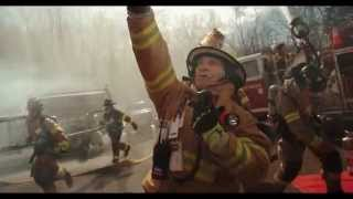 Epic Footage of Firefighters in Action
