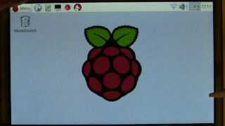 Raspberry Pi 5-inch Waveshare HDMI touch screen setup