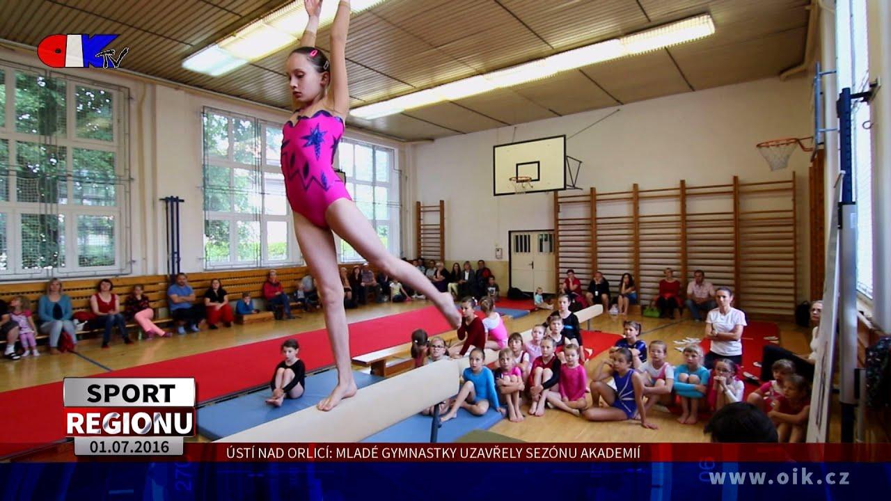 video s gymnastkou