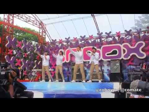 Coboy Junior Inbox 29 April 2012 - Behind The Stage